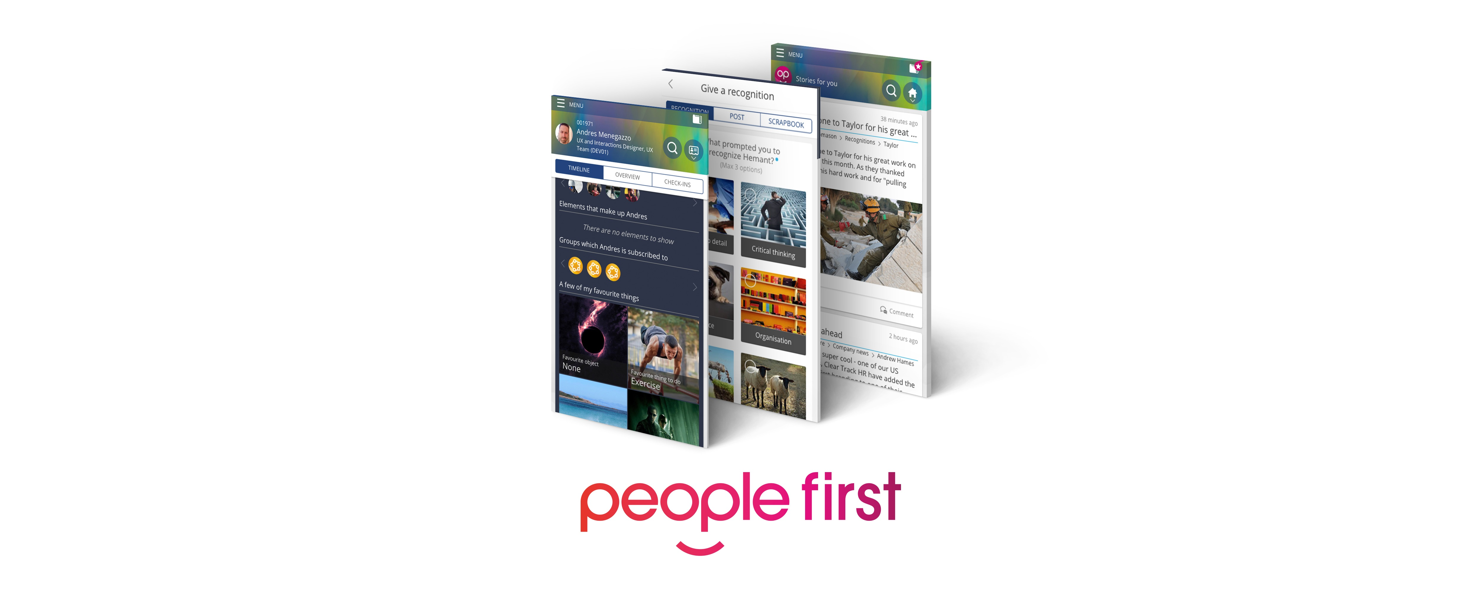 People First Screenshots and Logo