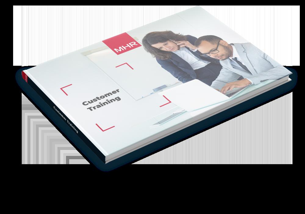 Customer training brochure