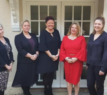 Five of MHR's Mental Health First Aiders