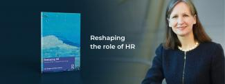 Professor Julie Hodges and her new book with the blog title 'Reshaping the role of HR'