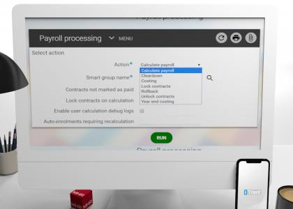 iTrent demo payroll